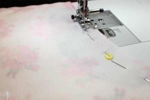 DIY Vintage Apron Sewing