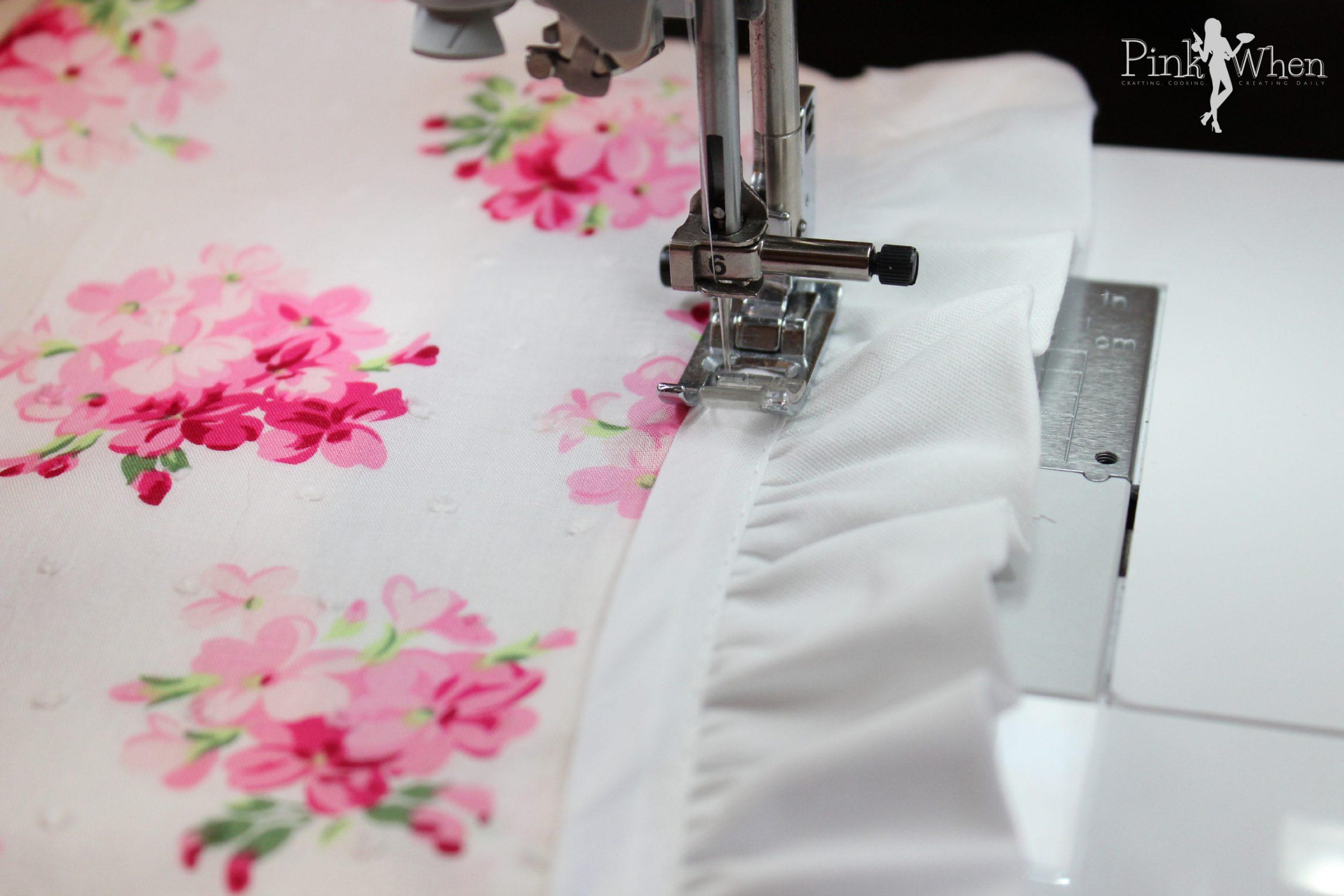White apron joann fabrics - Diy Floral Vintage Style Apron Tutorial