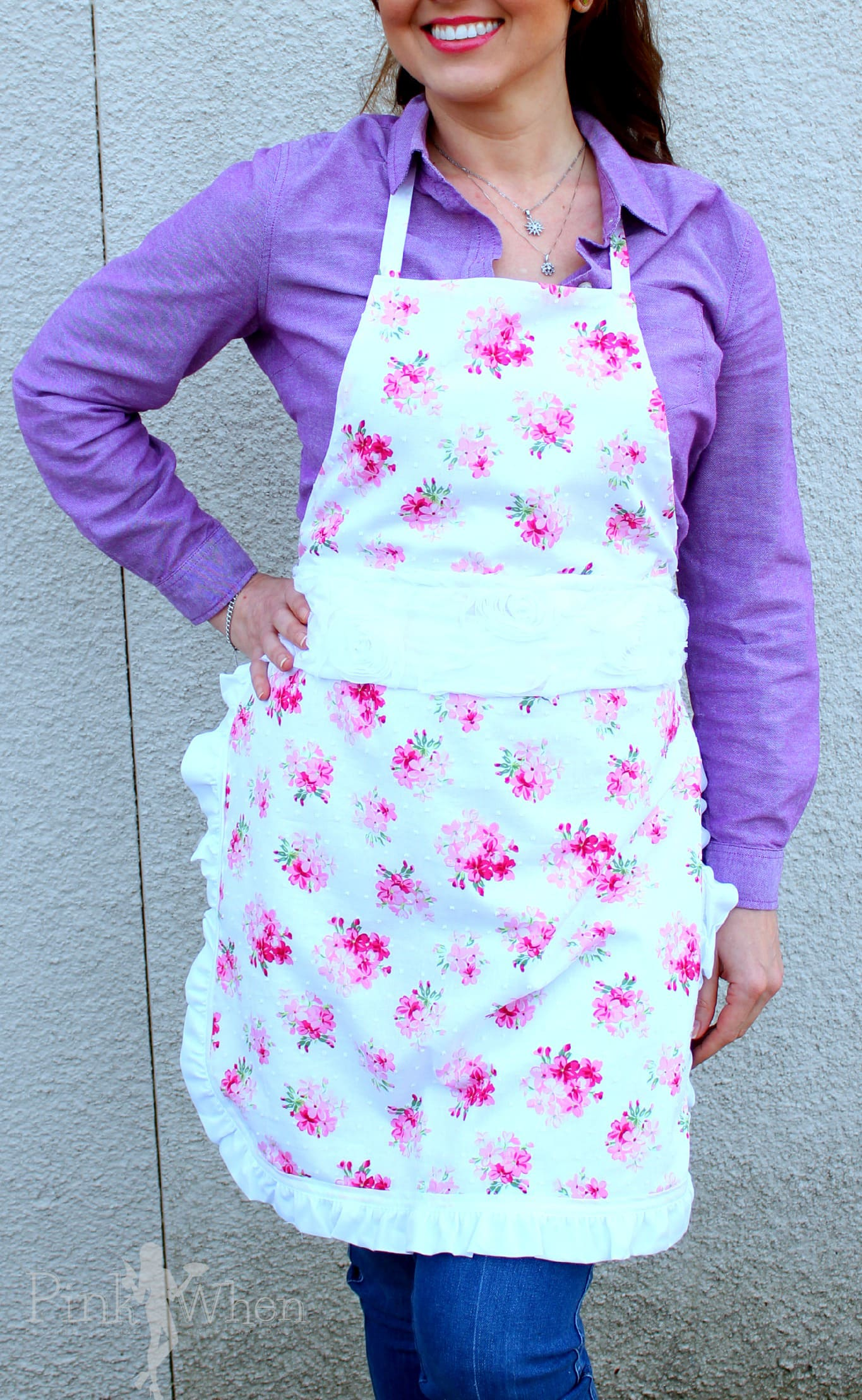 White apron joann fabrics - What S Your Favorite Spring Trend Or Craft Trend I Am Loving All Of These Floral Trends Make Sure To Head Over To The Joann Check Out All Of The Awesome