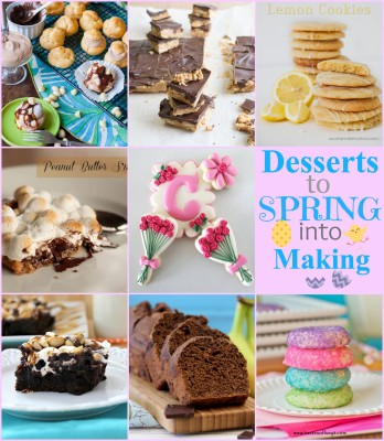 Desserts to Spring into Making