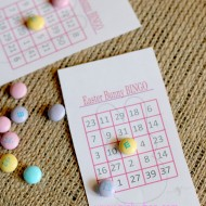 Easter Bunny Bingo Cards {Free Printables}
