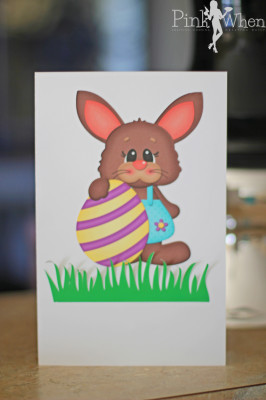 Easter Card Print and Cut Promotion with Silhouette America. Use promo code PINK to save big!