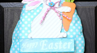 Easter Egg Bunny Wreath