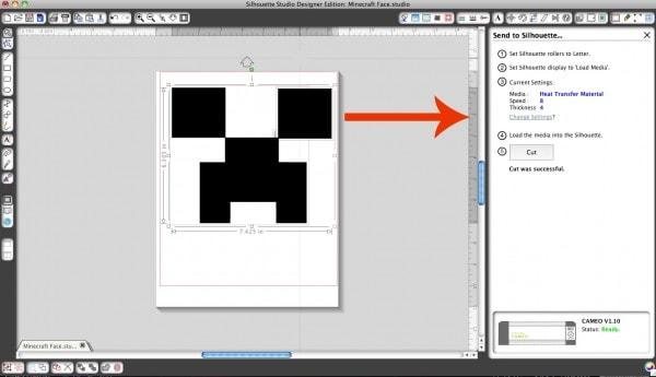 Minecraft Creeper Face Cut Settings