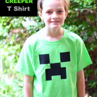 Minecraft Creeper Shirt Tutorial