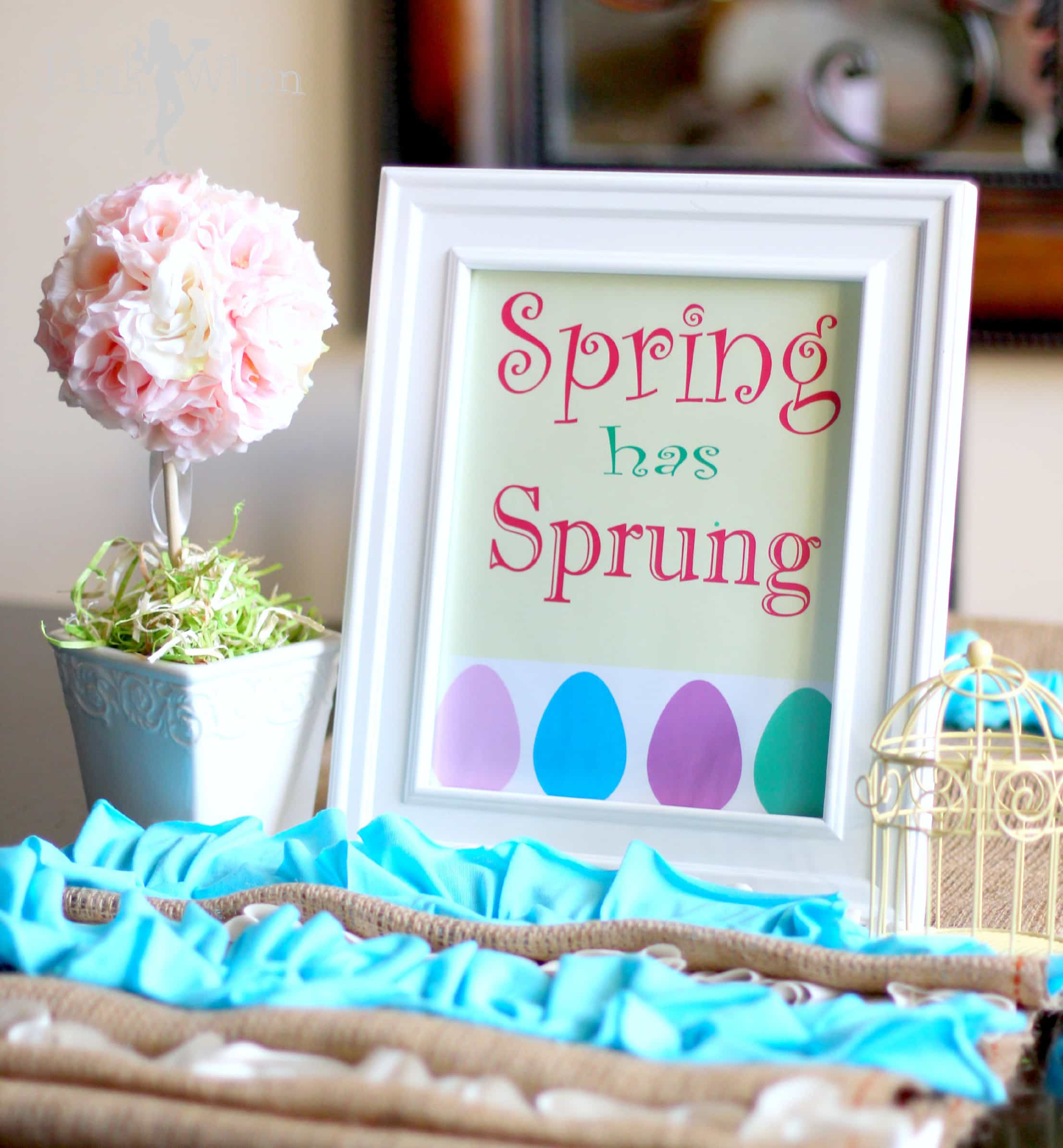 What are your favorite things about Spring? I love the flowers, new ...
