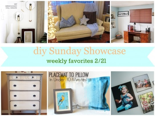 diy Sunday Showcase weekly favs 2/21