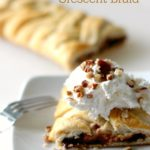Chocolate Banana Breakfast Crescent Braid