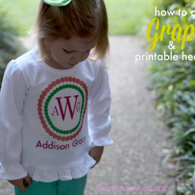 How to Print Graphics Using Heat Transfer
