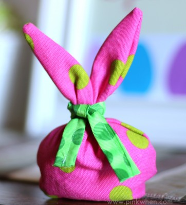 Easter Bunny Gift or Treat Bag Tutorial - Super Cute!
