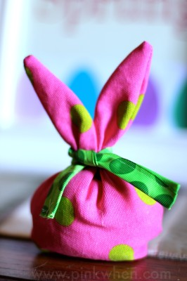 Easter Bunny Gift or treat Bag 6