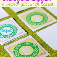 Memory Matching Game (Free Printable)