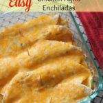 Easy Chicken Fajita Enchiladas Recipe