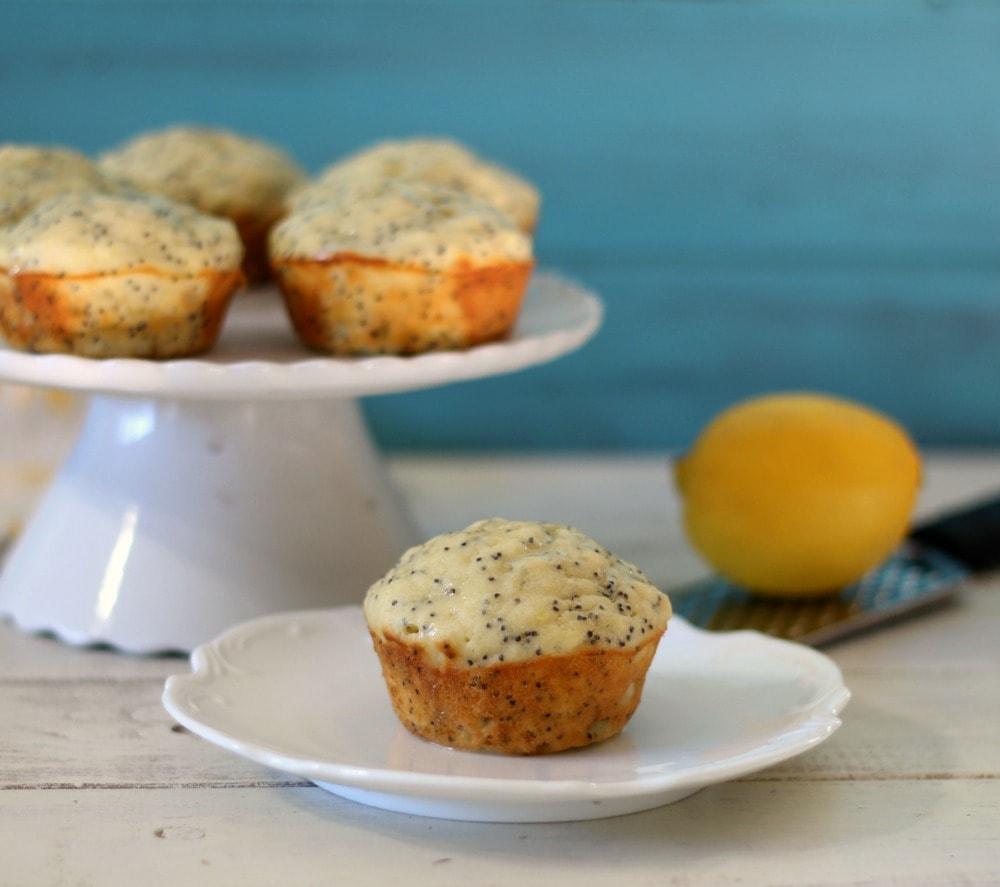 Lemon Poppy Seed Muffins Recipe — Dishmaps