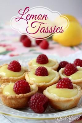 Lemon Tassies by Yesterfood