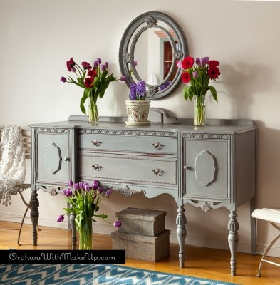 Paris Grey Sideboard