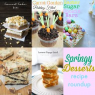 Springy Dessert Roundup from diy Sunday Showcase Party