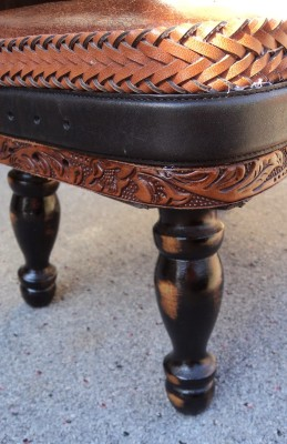 Upcycled Foot STool