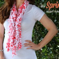 DIY Spring Scarf Tutorial