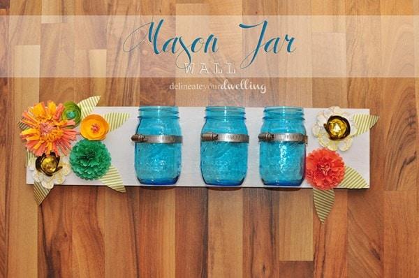 1 Mason Jar Wall