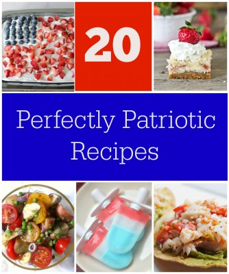 20 Perfectly Patriotic Recipes