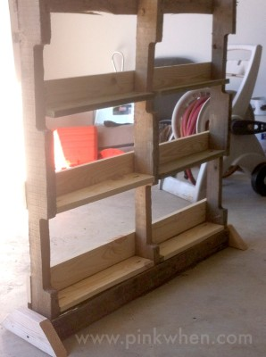 Create a Vertical Herb Garden from a Pallet (behind the scenes picture)