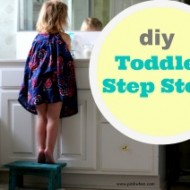 DIY Toddler Step Stool