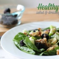 Healthy Salad and Dressing Recipe #DressingItUp