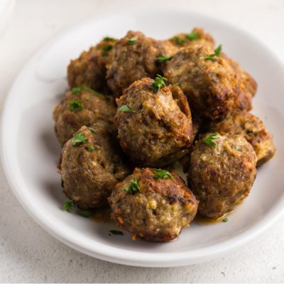 Easy Italian Meatballs Recipe