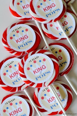 King of Pops Father's Day Free Printable
