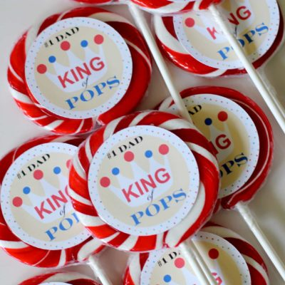 King of Pops – Father's Day Free Printable
