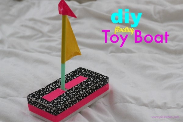 diy Toy Boat Quick Fun Craft