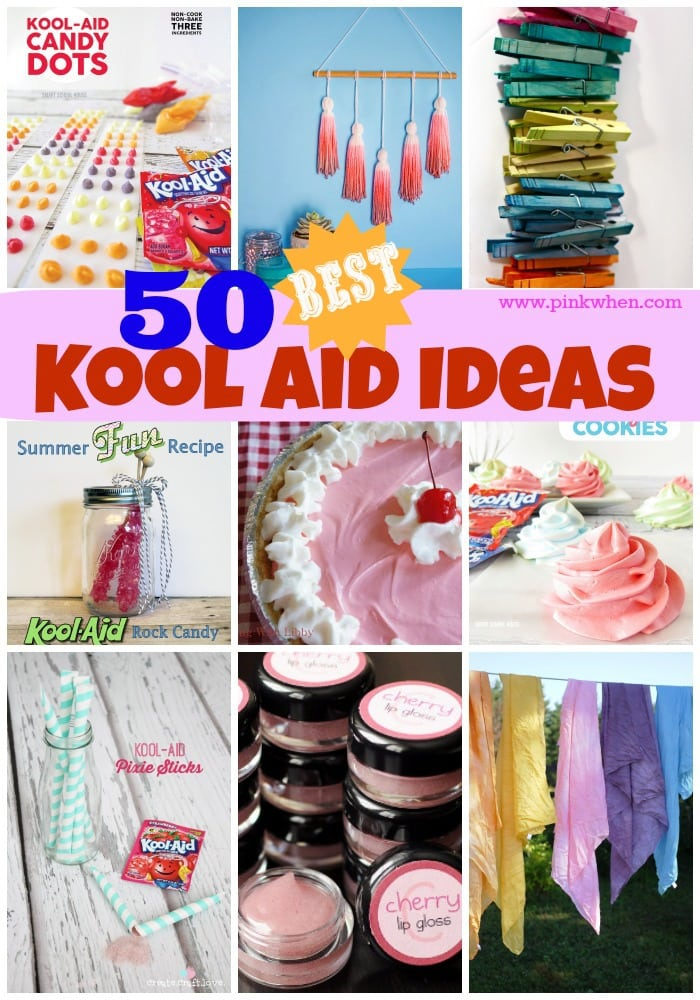 craft ideas girlfriend 50 awesome kool aid ideas pinkwhen 1539