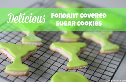 Delicious Fondant Covered Sugar Cookies