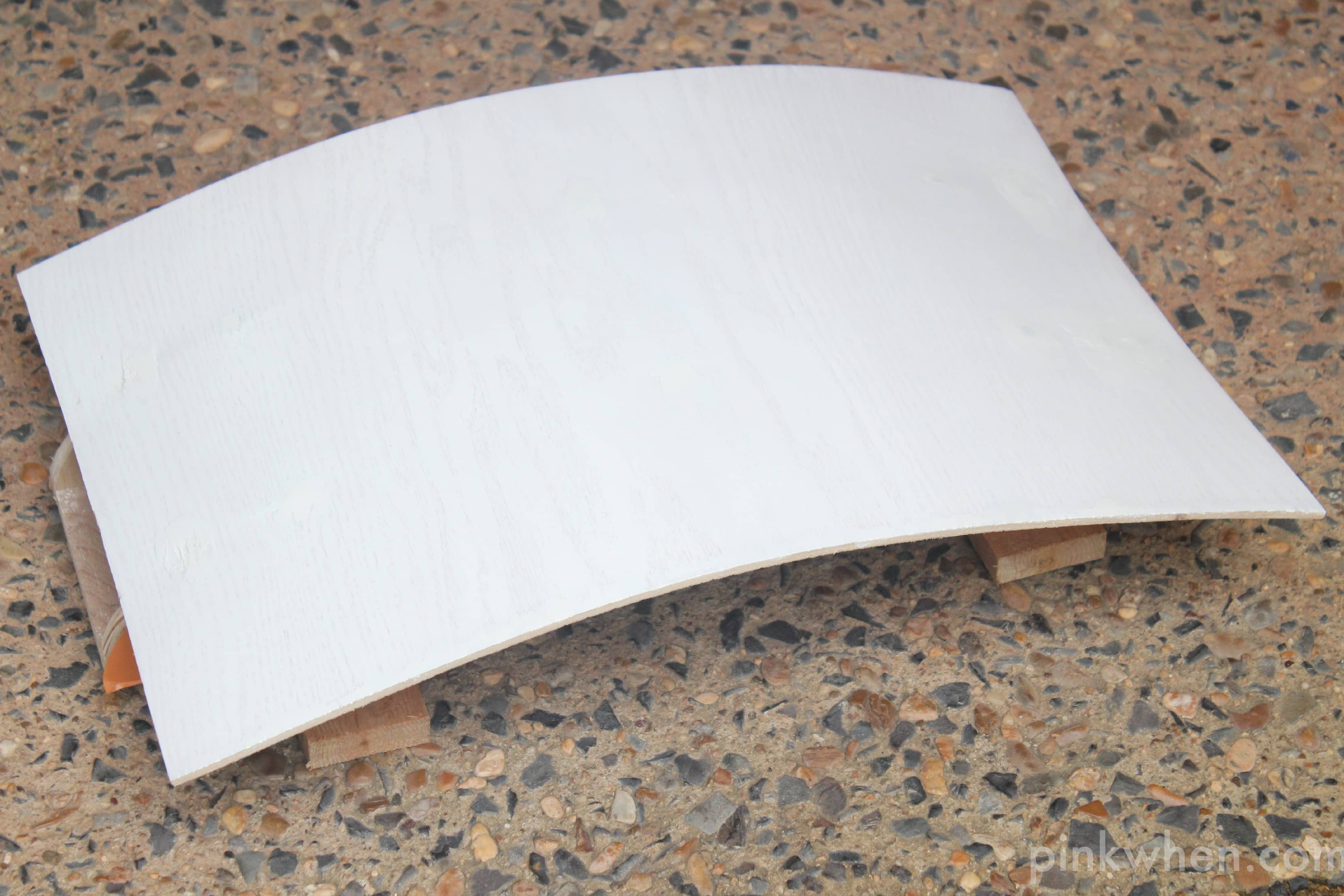 Easy DIY Cornice Board Bed Base Panel
