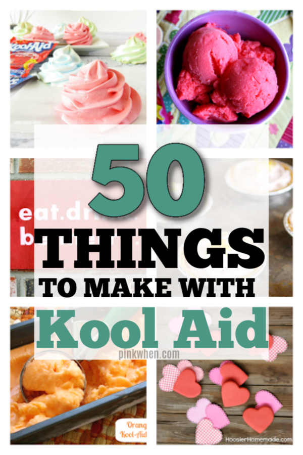 We've put together the ultimate list of crafts and things you can do with Kool Aid. Make lip balm, hair dye, and more. All using the fun and simple ingredients of your favorite colored Kool Aid.