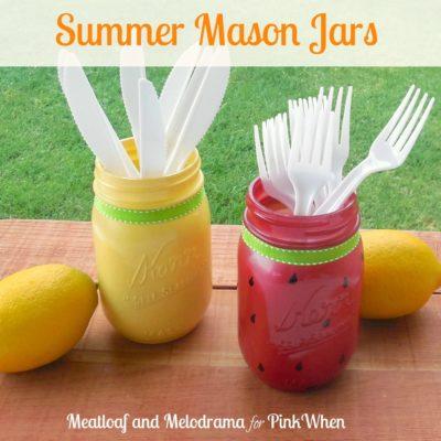 Summer Mason Jars
