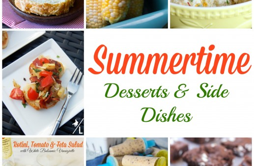 Summertime Desserts & Side Dishes via PinkWhen.com