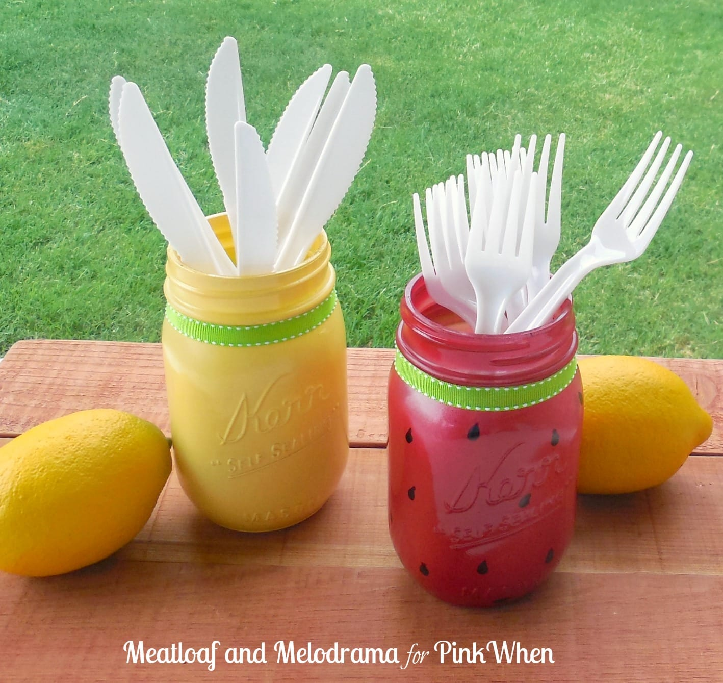 Summer mason jars by Meatloaf and Melodrama