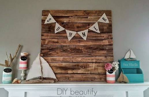 Summer Beachy Mantle
