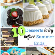 10 Desserts To Try Before Summer Ends