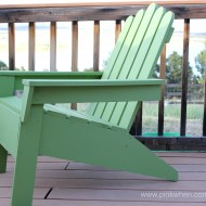 How to Make Adirondack Chairs