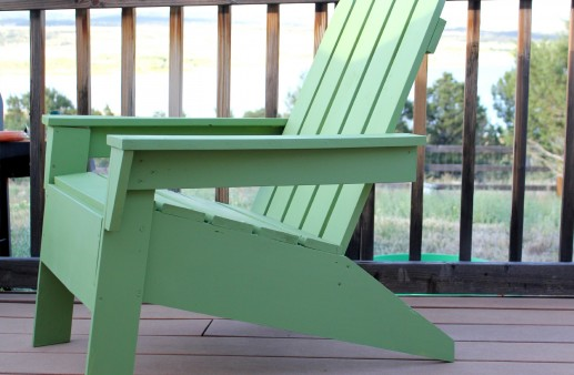 DIY Adirondack Chair via PinkWhen.com 1