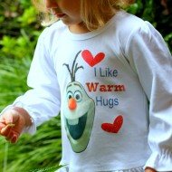 DIY Frozen Olaf Shirt