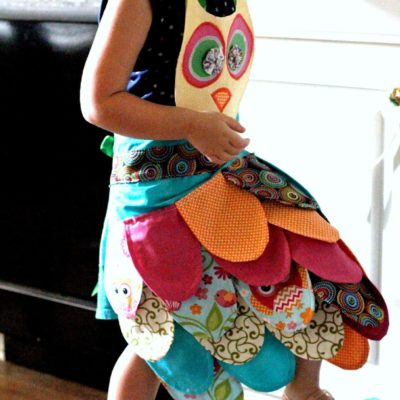 How to Make an Owl Apron