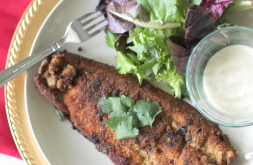 Pan fried Trout Recipe via PinkWhen.com