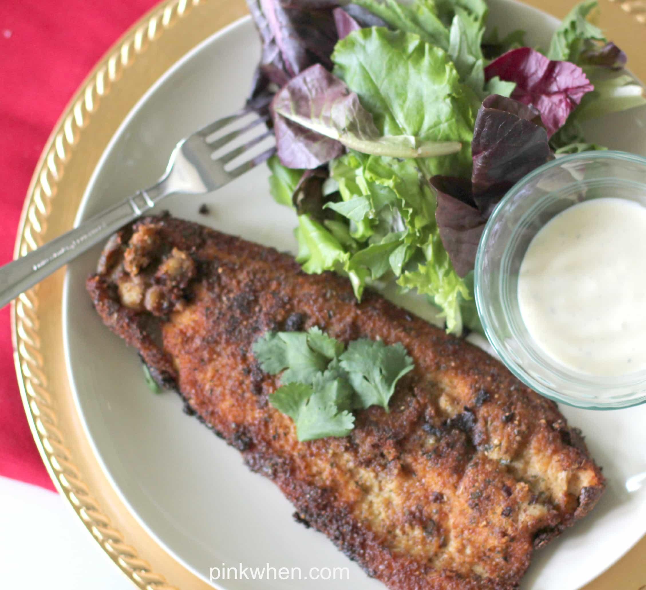 Pan fried Trout Recipe via PinkWhen.com