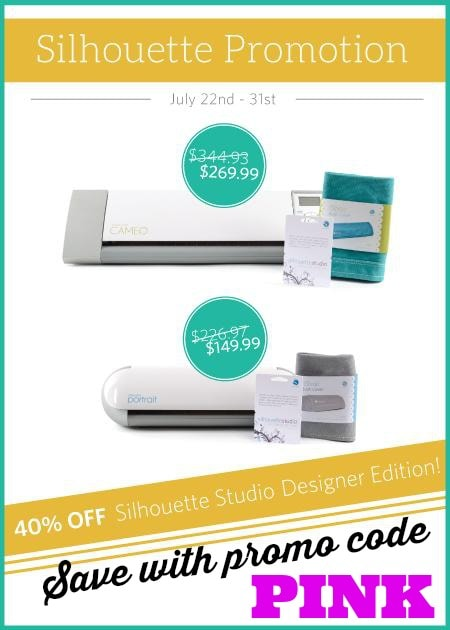 Silhouette July Promotion