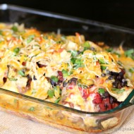 How to Make a Southwest Cheesy Chicken Casserole