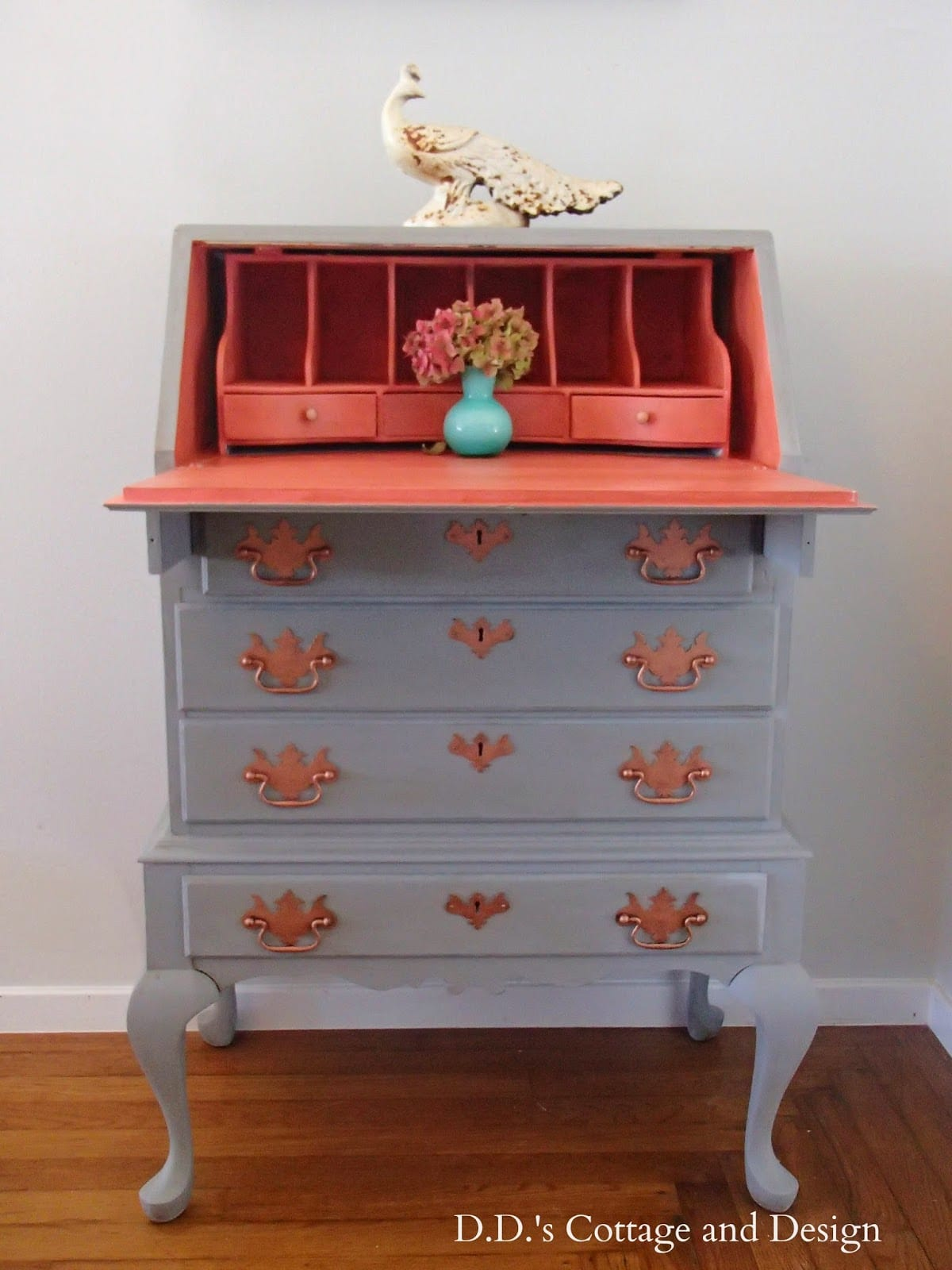 queene anne secretary desk